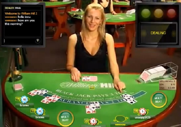williamhill blackjack live